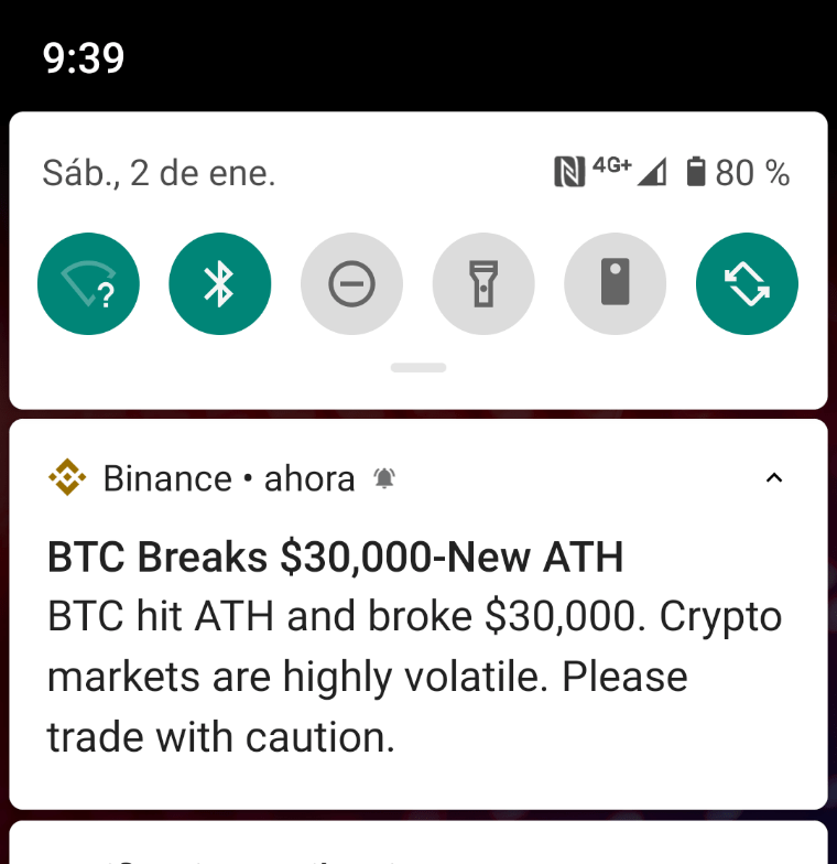 #Alerta El Bitcoin supera los 30.000 dólares