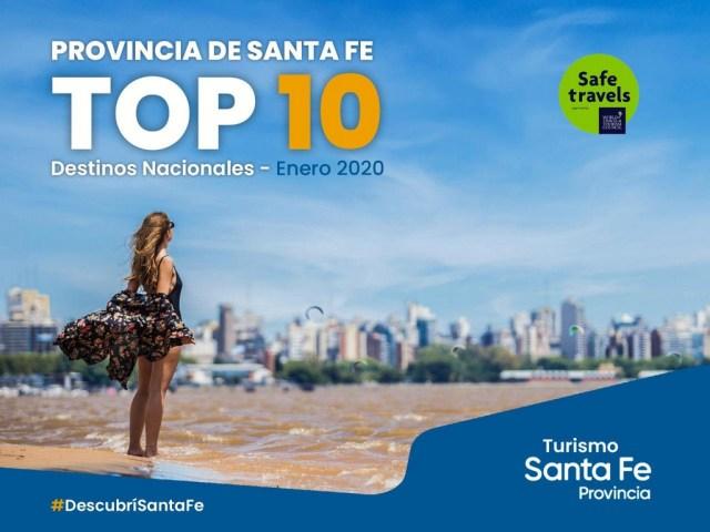 Santa Fe llegó al top ten