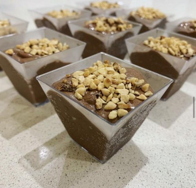 Mousse de chocolate para Pesaj