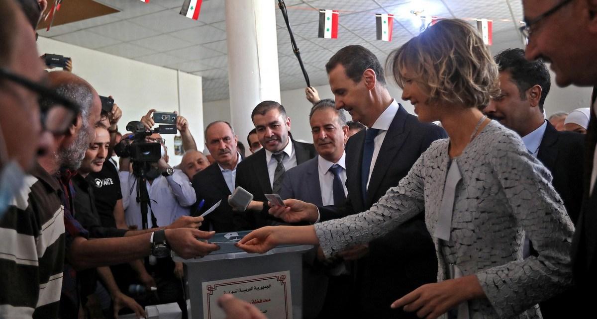 Siria vota para elegir presidente