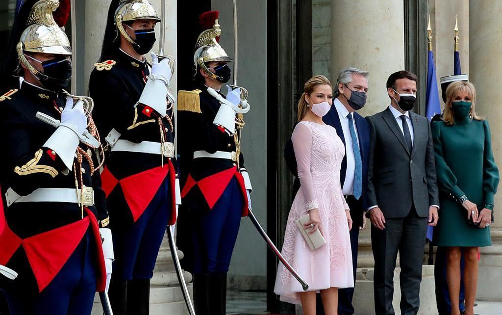 Fabiola Yañez y de Francia, Brigitte Marie-Claude Macron