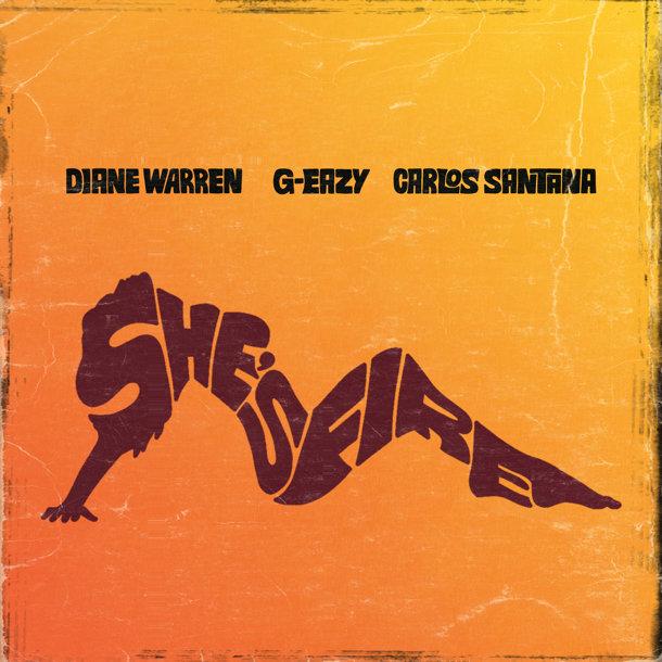 Diane Warren and Santana