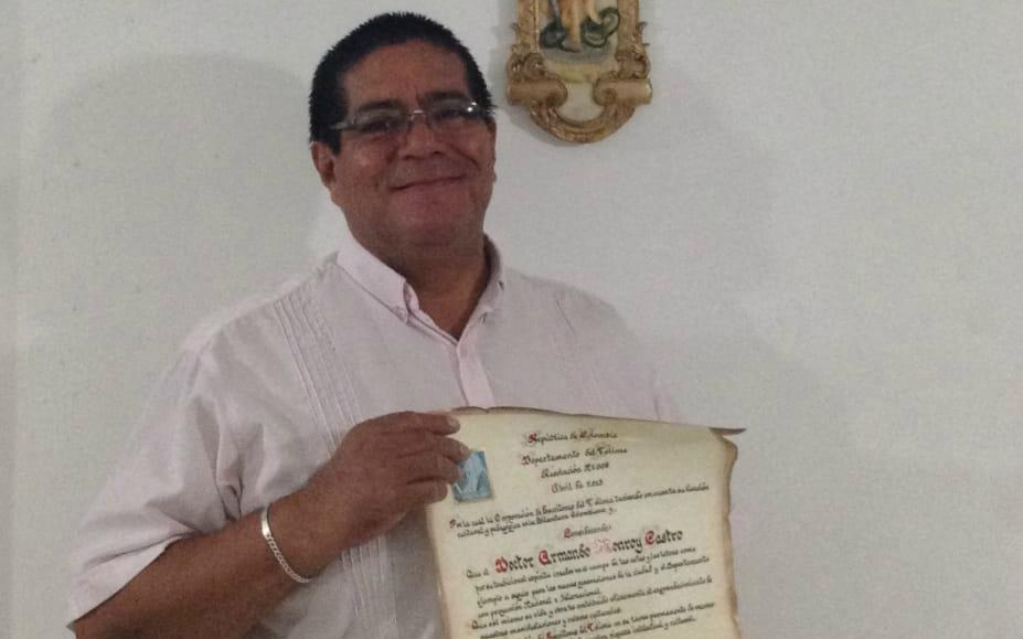 ABOGADO Y LOCUTOR ARMANDO MONROY CASTRO EN CUIDADOS INTENSIVOS. 1