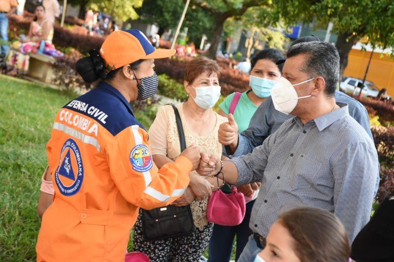 Gobernador del Tolima Ricardo Orozco anuncio construcion de Hospital Regional en Chaparral. 1