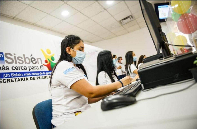 En las nuevas oficinas de Sisben se han atendido mas de 1.800 ibaguereños. 1
