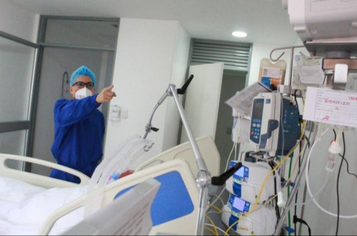 """""""El Hospital Federico Lleras llegó al 99% de ocupación para pacientes Covid"""". 1"""