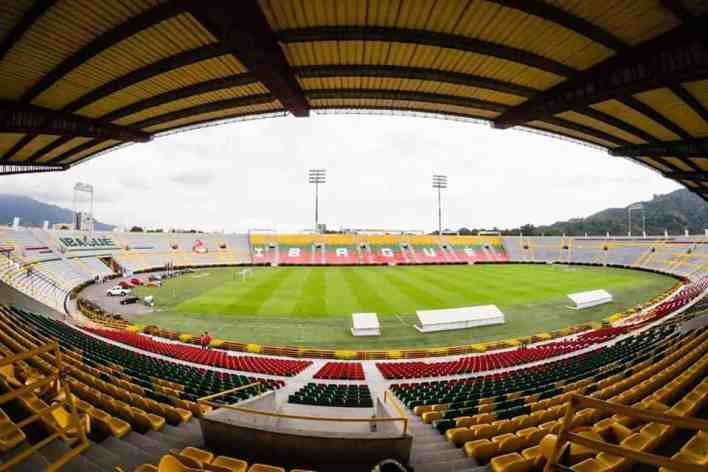 Alcalde Andrés Hurtado inauguró las nuevas obras del estadio Manuel Murillo Toro. 2
