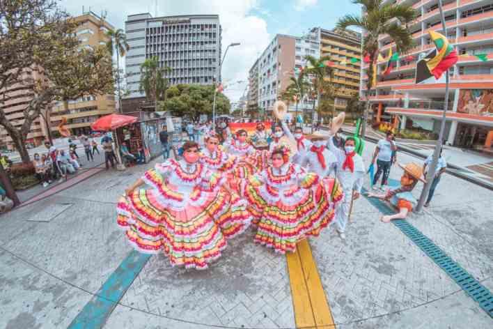 Luego de anunciar su postulación, Ibagué fue elegida como la Capital Americana de la Cultura 2022. 1