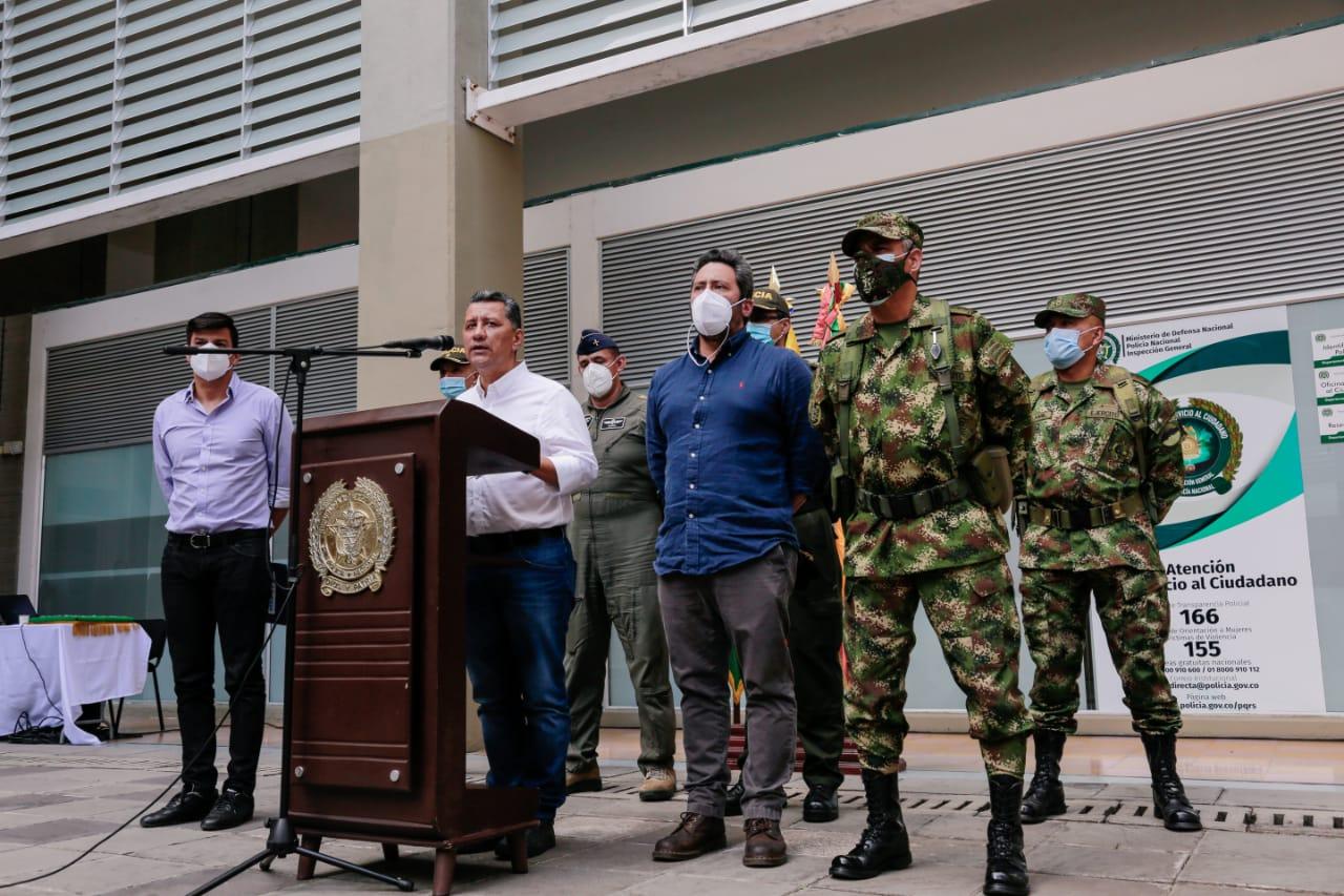 Millonaria recompensa para ubicar a los responsables de los hechos delictivos en Ambalema y Chicoral. 1