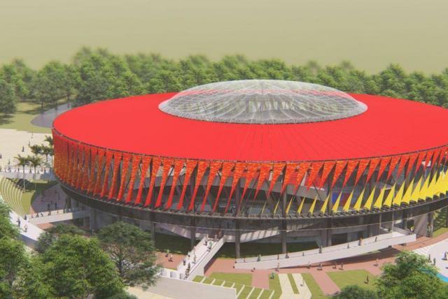 En 15 días, inicia instalación de estructura metálica del Coliseo Mayor. 1
