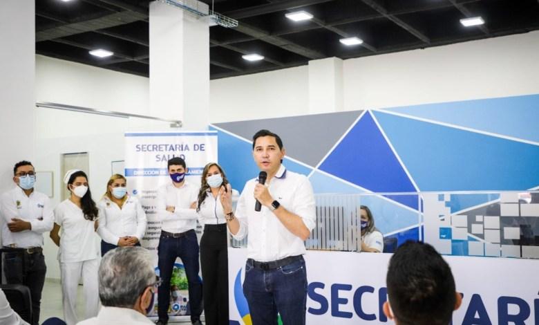 Alcalde Hurtado habilitó nueva sede de la Secretaría de Salud Municipal. 3