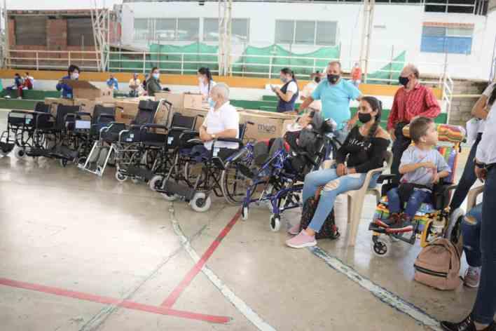 Discapacitados recibieron apoyo de la Gobernación del Tolima. 2