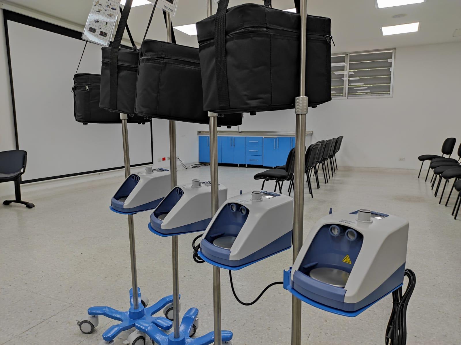 Hospitales reciben equipos vitales para salvar vidas. 1