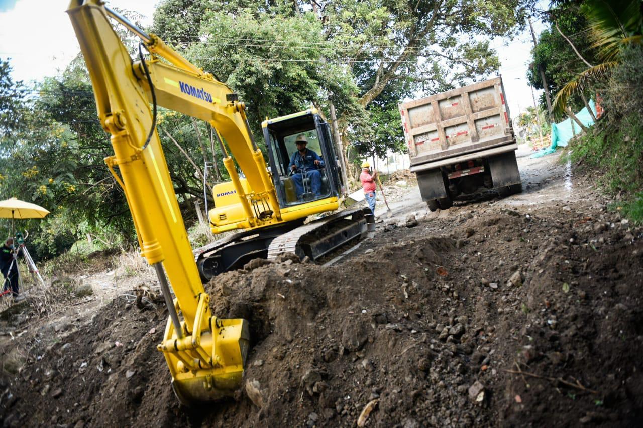Por construcción de la calle 103 en Ibagué , se modificará ruta de transporte público . 1