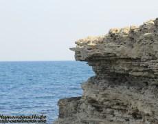 ФОТО ГАЛЛЕРЕЯ Скал на Халабуде в пгт Черноморское сентябрь 2012 год