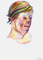 Berthe (crayons et pinceau - 1)