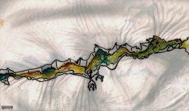 Dragon (feutre et aquarelle)