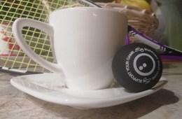 Filiżanka i squash