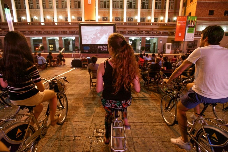 1era Selección Lanzamiento y Cine a Pedal