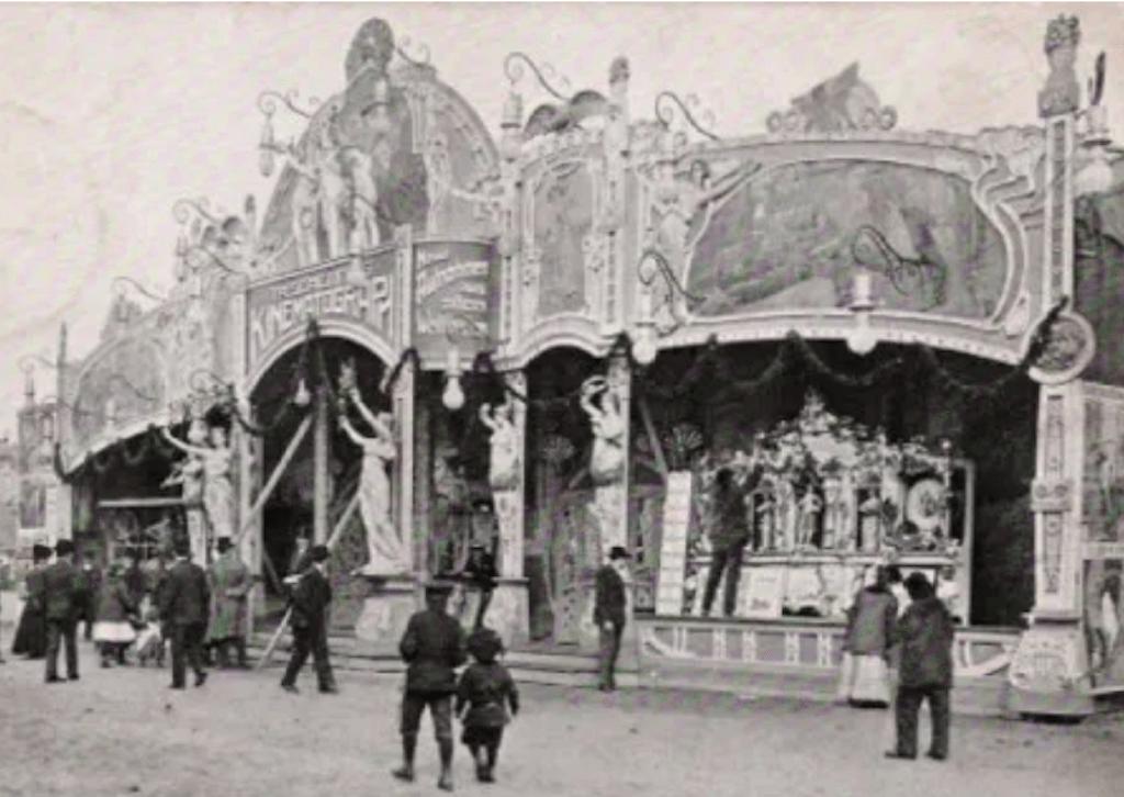 Primer cine - Travelling cinema en 1907