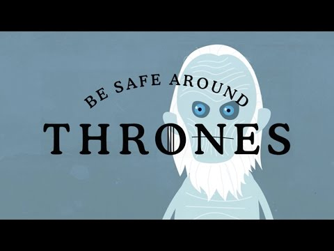 Dumb Ways to Die i Game of Thrones