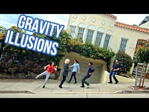 Gravetat o efectes òptics: Tilting the Streets of San Francisco
