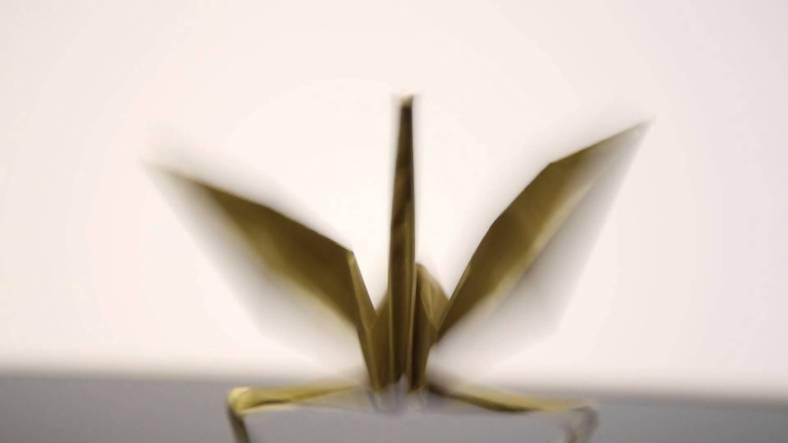 Origami Dancing Paper