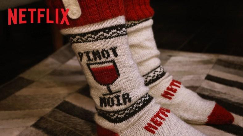 Per la marató de series: Netflix Socks