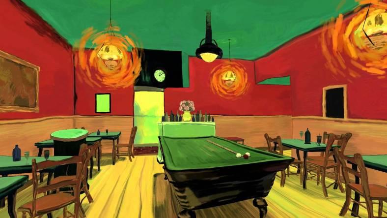 Tribut en VR a Va Gogh: The Night Cafe