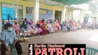 Penyaluran BLT(Bantuan LangsungTunai) DD ke3 desa Grobogan kecamatan mojowarno kabupaten jombang