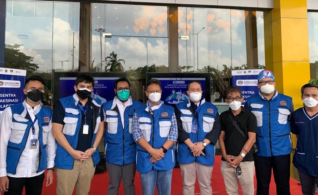 Sukseskan Program Pemerintah, Kolaborasi IKASTARA dengan Taman Impian Jaya Ancol Gelar Vaksinasi di Ancol Beach City Jakarta Utara