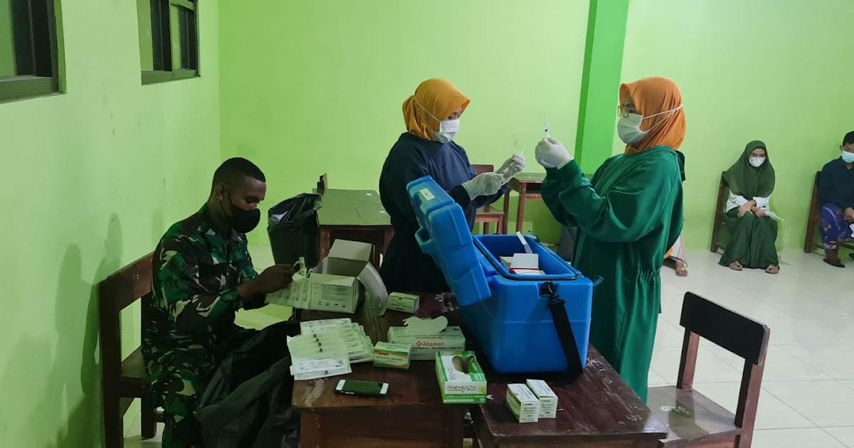Koramil 01 Teluknaga Lakukan Serbuan Vaksin, Kodam Jaya