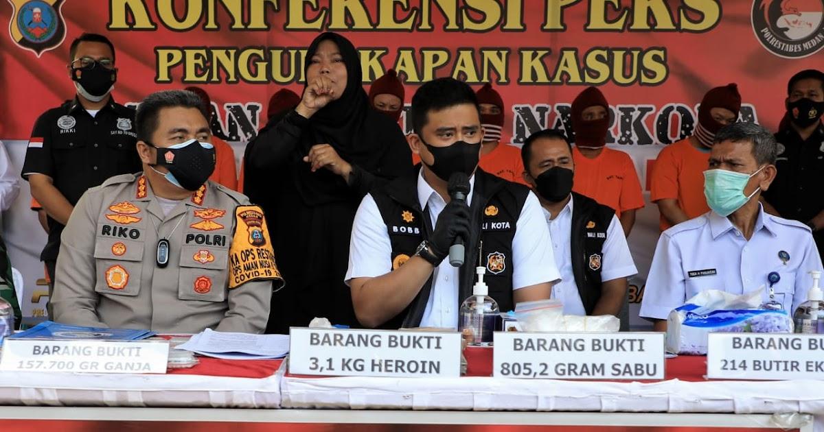 Wali Kota Medan akan Upayakan Pendirian Tempat Rehabilitasi dan Pembentukan BNN Kota Medan