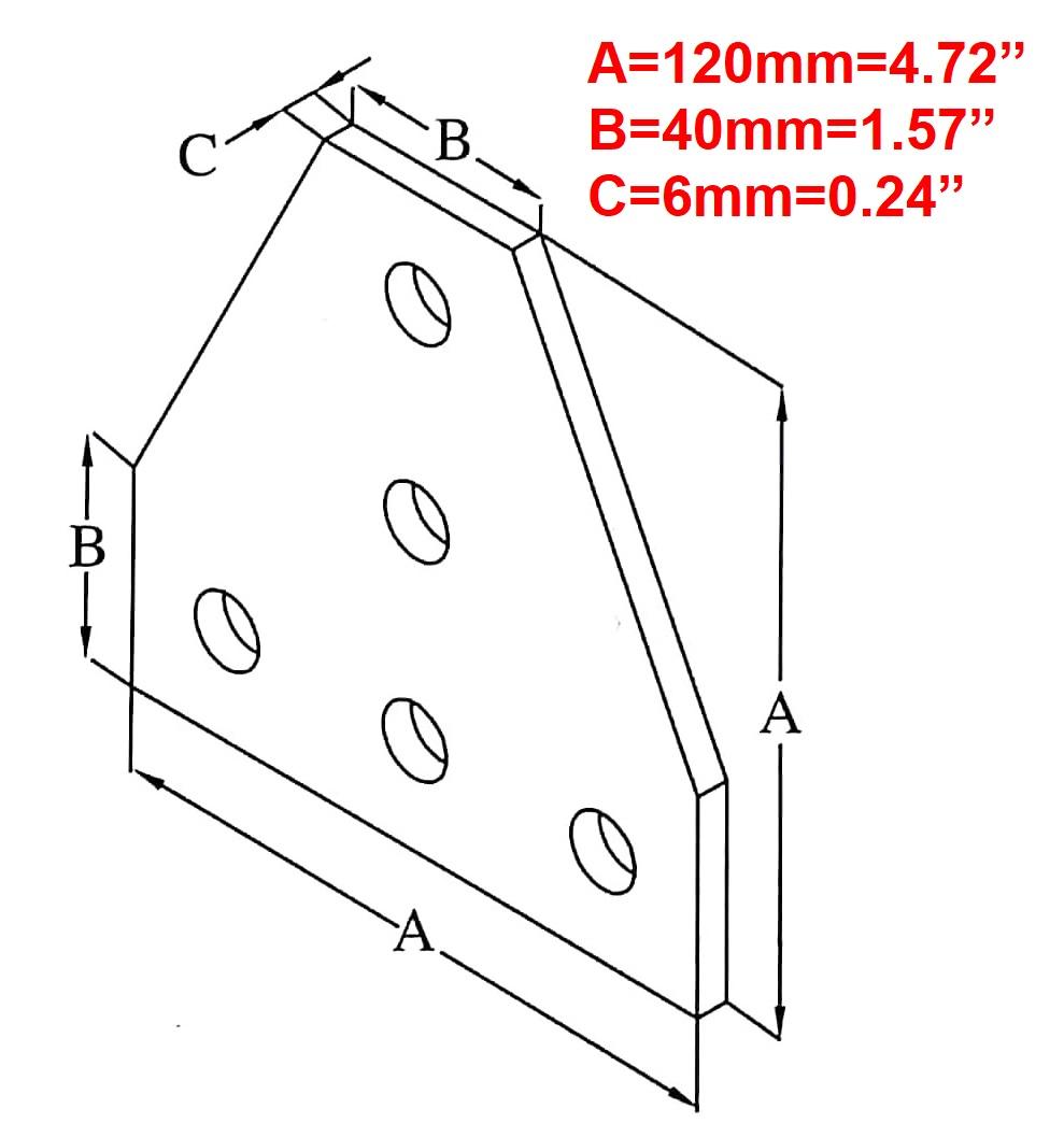 Aluminum Flat Stock Holes