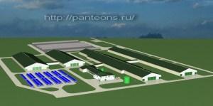 Проектирование молочных ферм