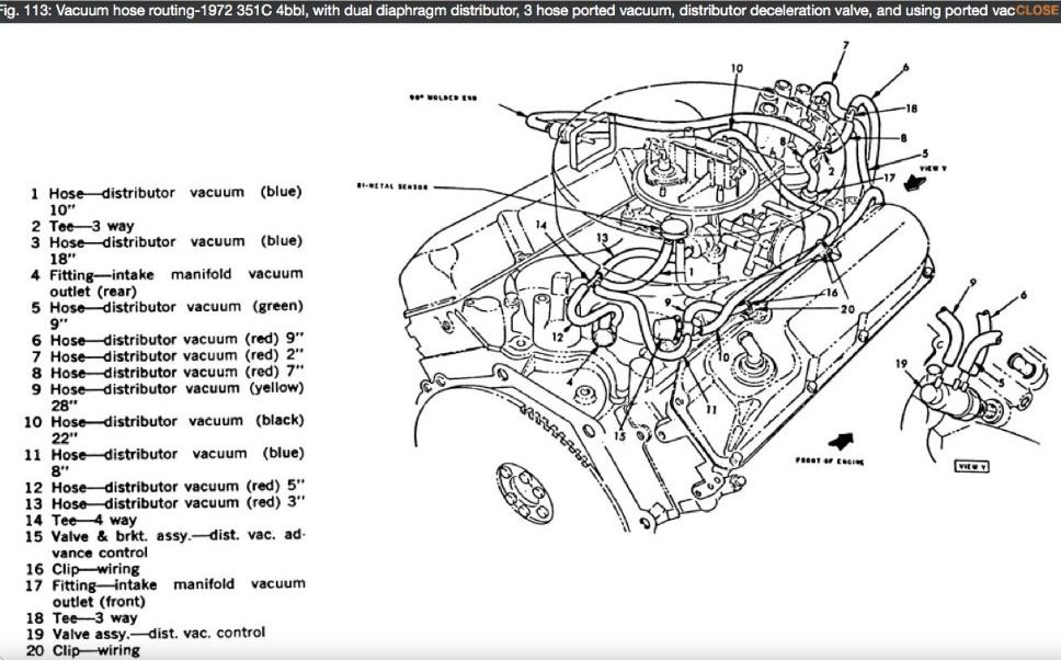 1978 Ford 351 Engine Diagram FULL HD Quality Version