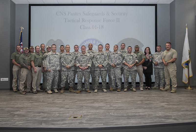Pantex Special Response Team welcomes 13 new members   Pantex Plant