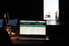 Lugar de trabajo al Burgtheater Wien - 10-2019 - © Johannes Traun