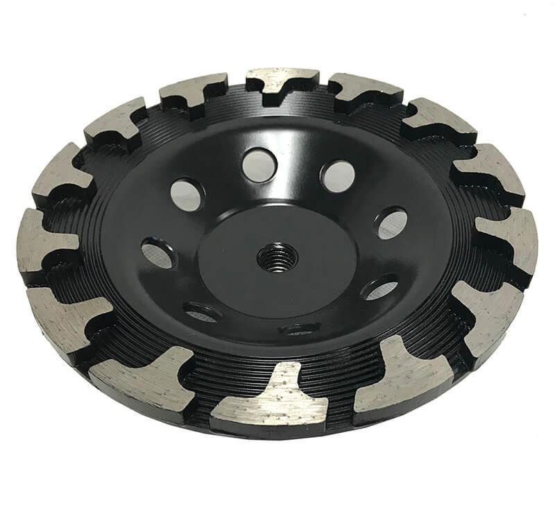 "Syntec – 7″ ""T"" Seg Cup Wheels (Black Series), 14 Segments"