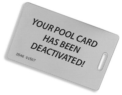Pool Cards:  Don't wait, Reactivate!