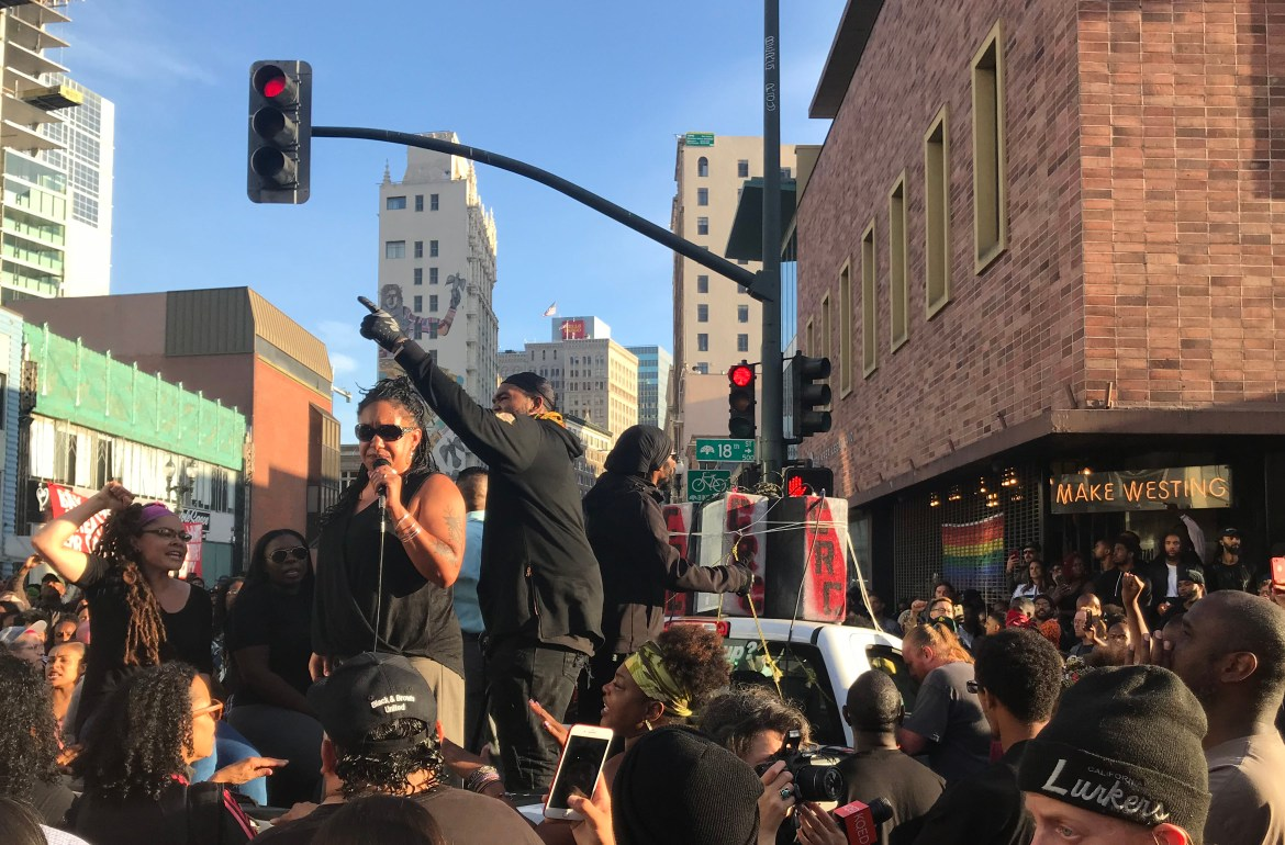Nia Wilson Vigil Unifies Oakland Activists to Confront White Supremacy and Media Perceptions