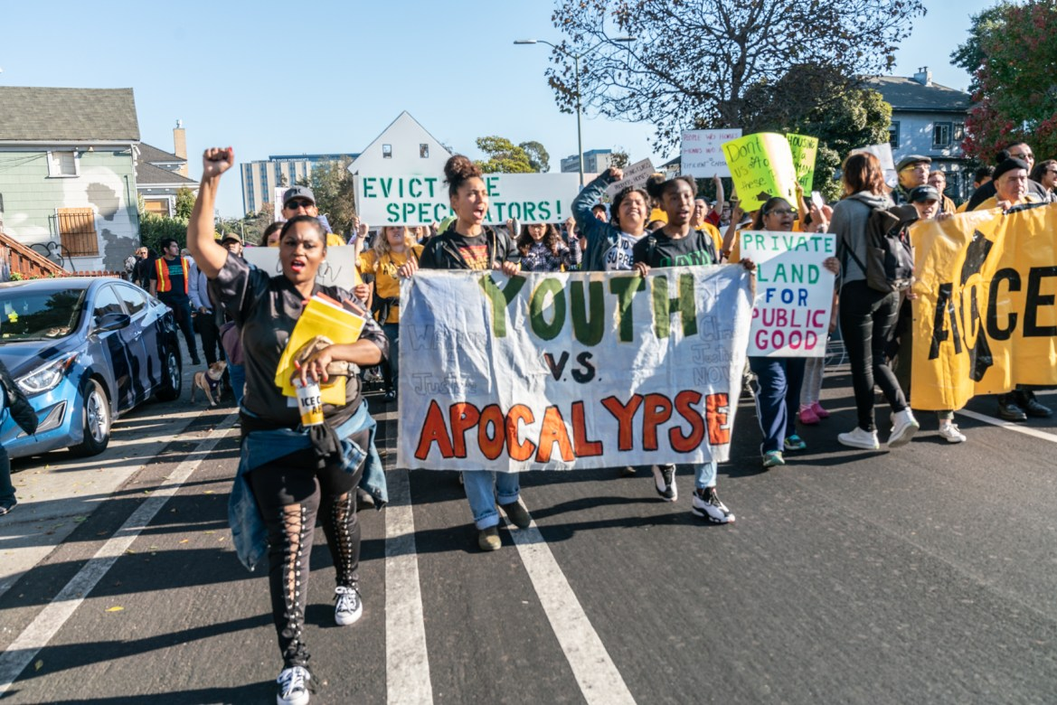 Oakland Advocate Groups Join Forces with ACCE and Moms 4 Housing