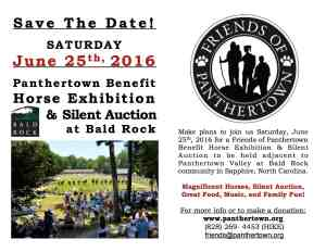 Save The Date: June 25, 2016