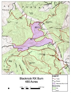 Blackrock RX Burn Map