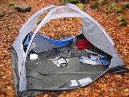 Torn Tent (Source: NPS)