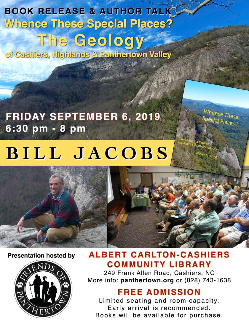 Bill Jacobs event is September 6