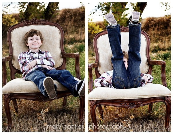 Chase in a chair