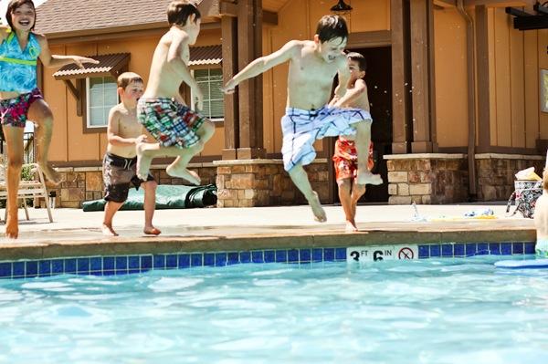 20110816 Sleepover Swim Day 13