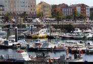 embarcaciones en el puerto interior de Ferrol - fotografía por Fermín Goiriz