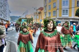 Desfile de Carnaval en Cedeira, 18 de febrero de 2012 - Carnaval Cedeira 2012 - Galicia -fotografía por Fermín Goiriz Díaz